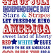 4th of July -independence-day-word-art