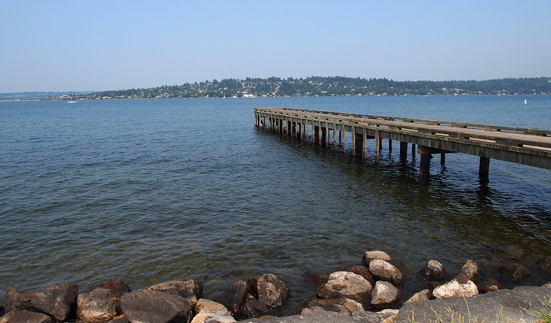 Lake Washington at Stan Sayres Park