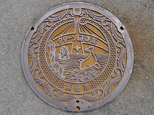 Hamada Shimane, manhole cover (島根県浜田市のマンホール)