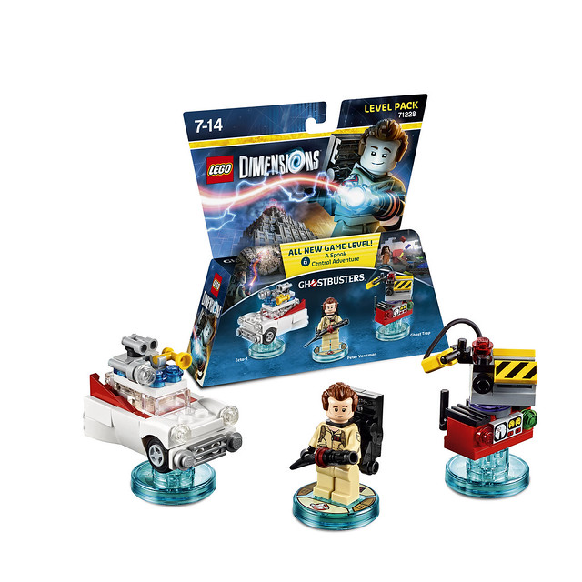 LEGO® Dimensions【魔鬼剋星】Ghostbusters-Level-Pack & Fun-Pack
