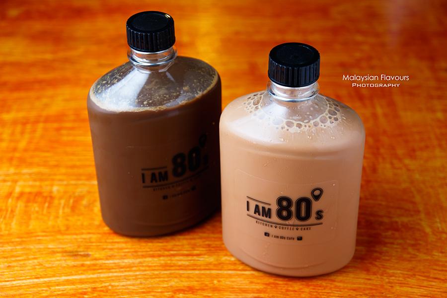 I Am 80s Cafe Taman Rasa Sayang teh tarik