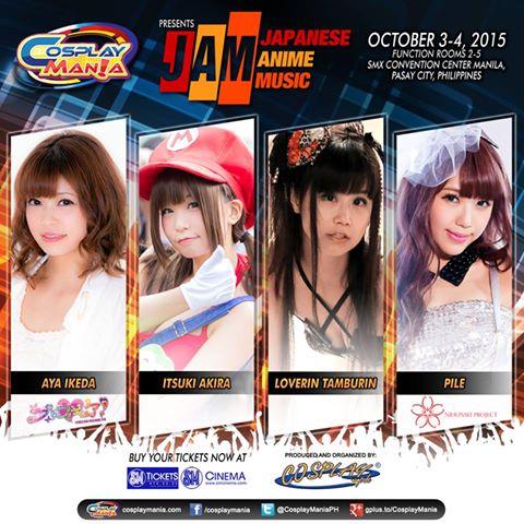 Cosplay Mania 15 JAM: Japanese Anime Music