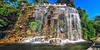 Nice, France. Parc de Château de Nice / Castle Hill's artificial  waterfall | July 2015 by templab