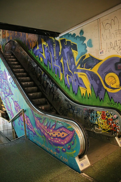 Tattoo Alley.  Galeria Bond Street.  Buenos Aires, Argentina.