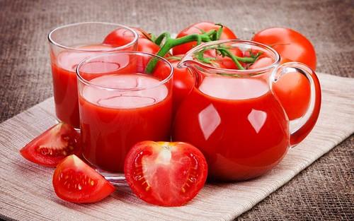 ppropiedades del jugo de tomate