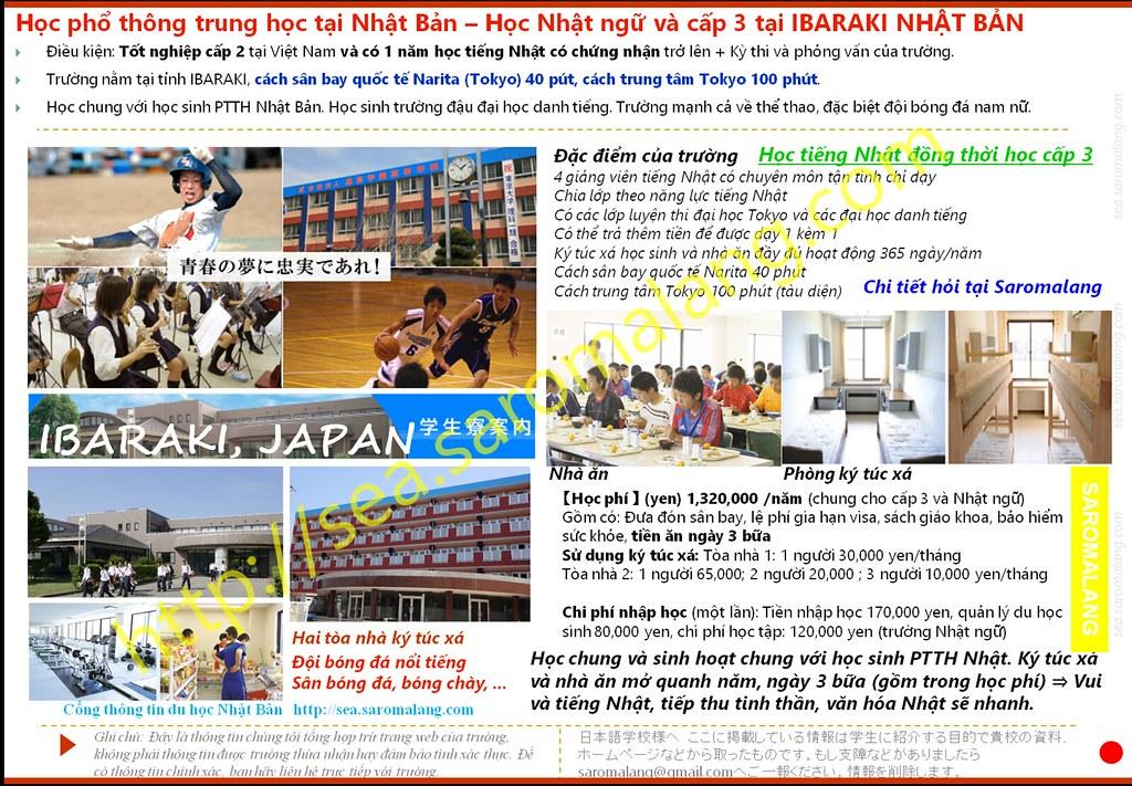 Học cấp 3 tại Nhật Bản