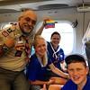 Venezuelans from BSA Crew 8 Massachusetts aboard bullet train ro #wsj2015 #ScoutsVenezuela #yosoyvenezolano #delegacionnooficialscoutsvenezuela