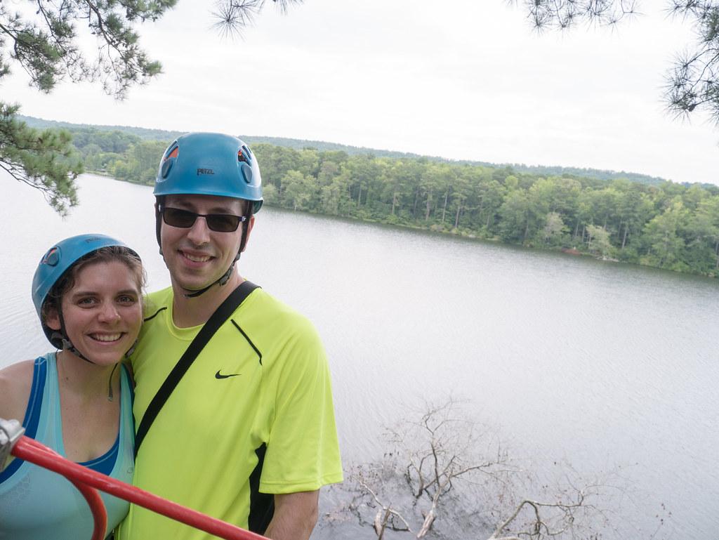 Us and a lake