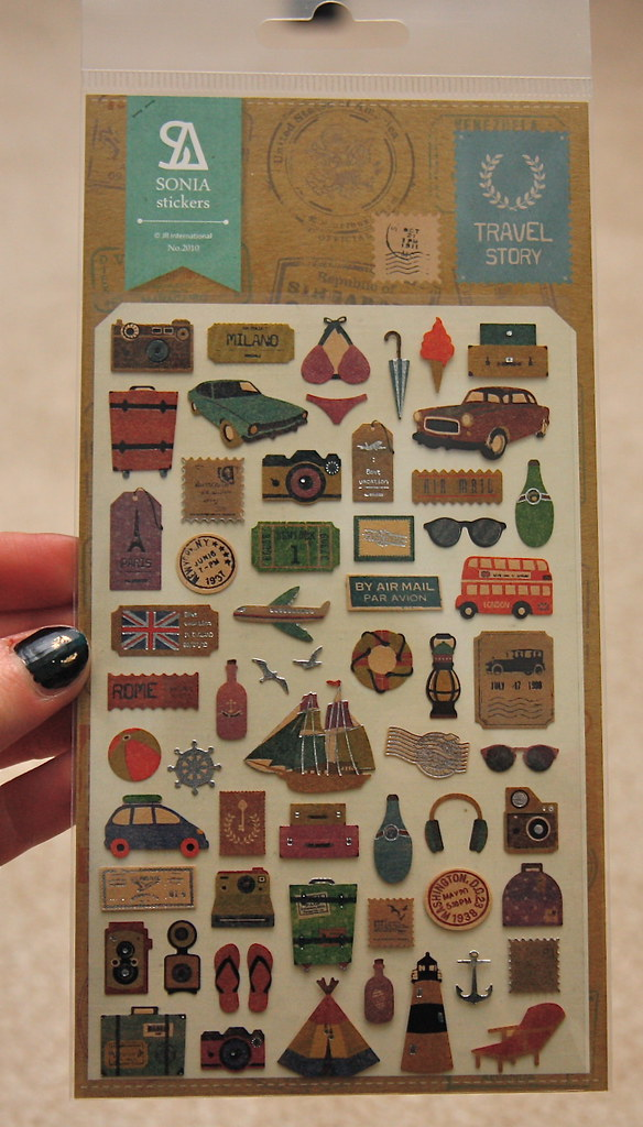 Artbox Sonia travel story stickers