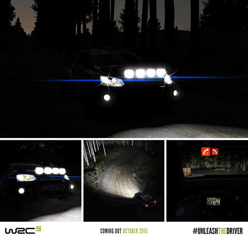 WRC 5 Night Stage