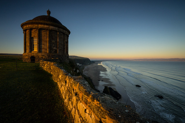 Mussenden Temple. Downhill, Northern Ireland. [Explored]