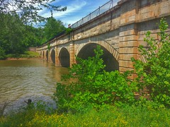 Monocacy Aqueduct- C & O Canal- Frederick County MD (6)