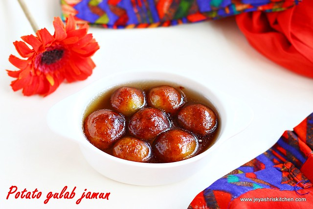 potato-gulab jamun recipe