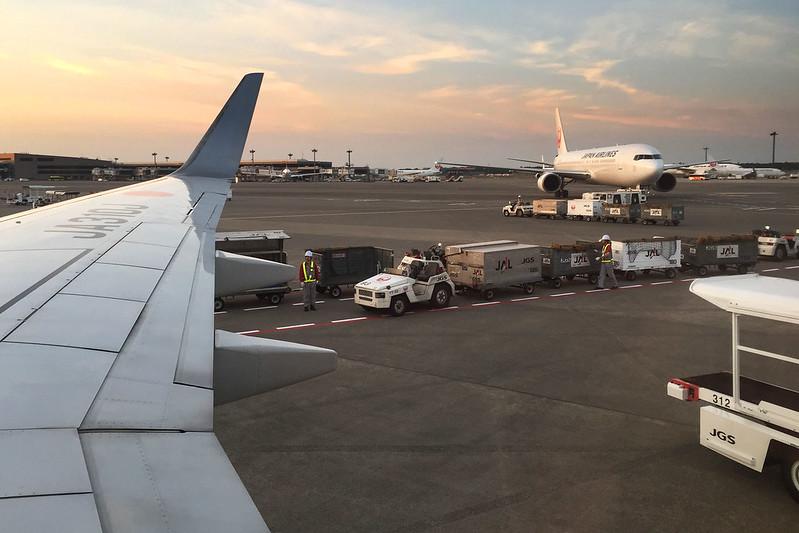 Arriving Tokyo