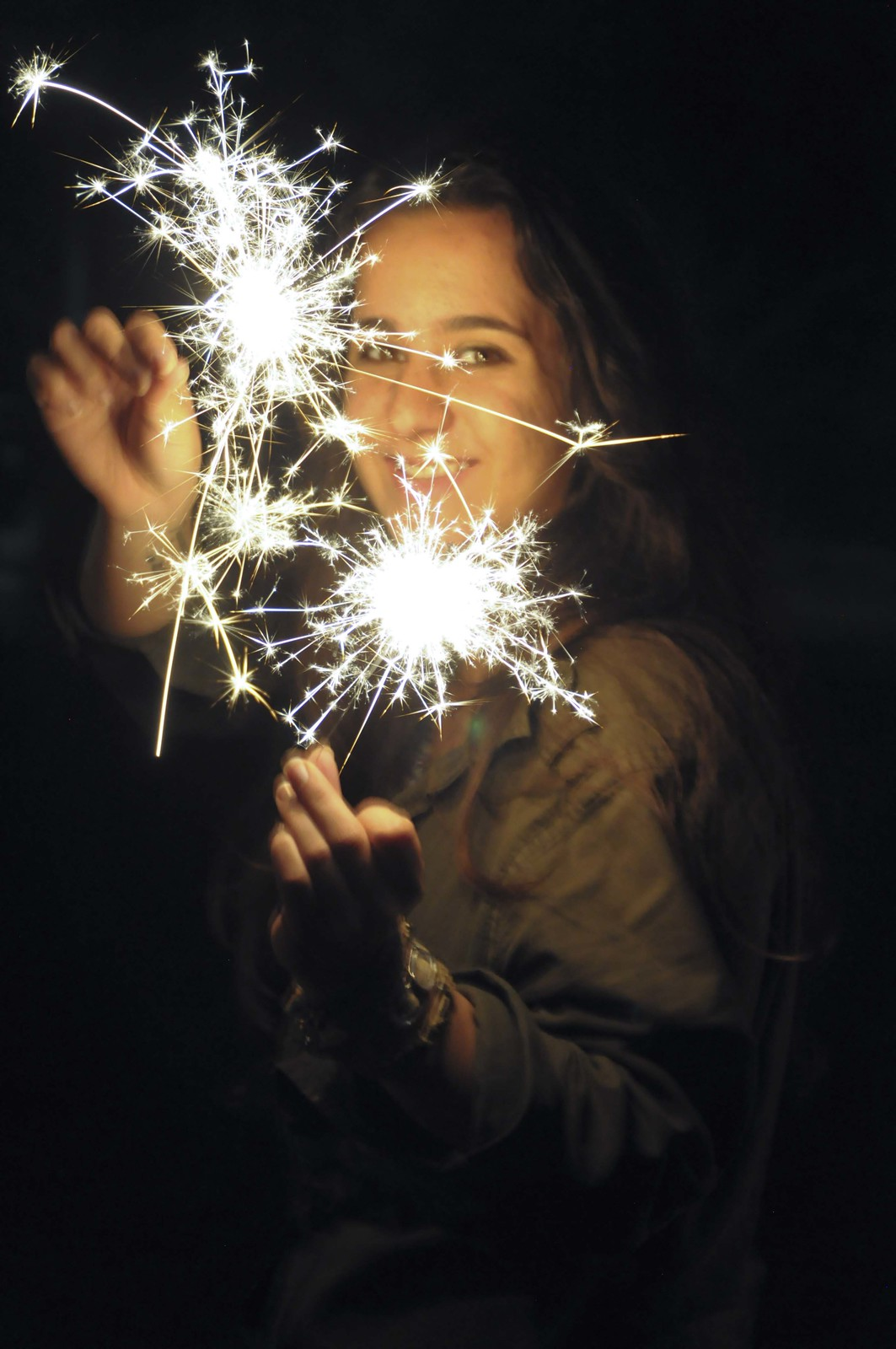 sparkler magic