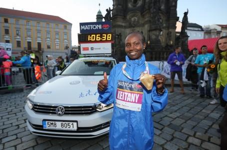 Keňanka Keitany prolétla Olomouc ve čtvrtém nejrychlejším čase roku