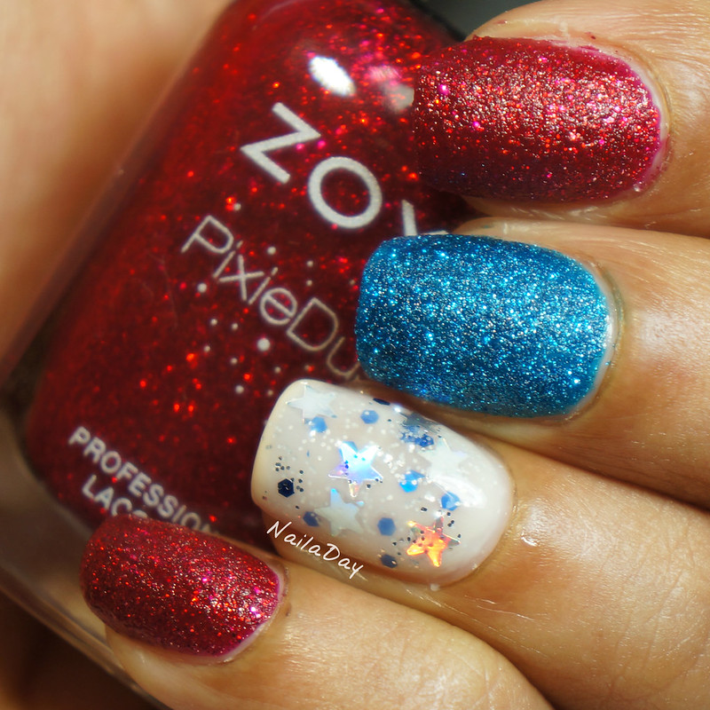NailaDay: Independence day with Zoya and OPI