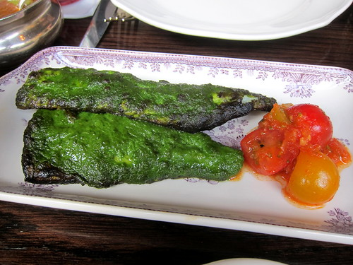 Hariyali Bream, Tomato Kachumber