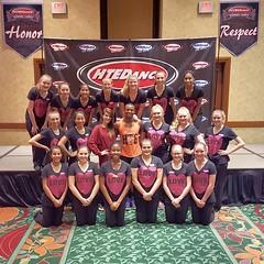 2015 HTEDance Team Training Camp Dallas Master Class with Brandon Bryant Central HS JV Lightning Dancers