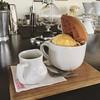 The Wafflegato at @awesomecoffeesg #nitrogen #icecream #coffee #espresso #foodie #waffles #ktown #tw