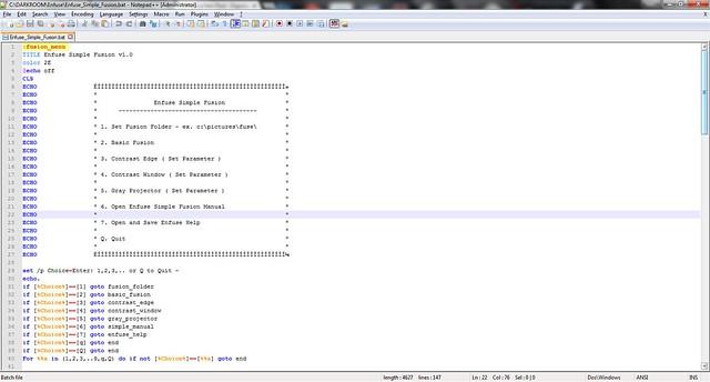 Script-ESF-menu