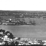Millers Point from North Sydney c1880