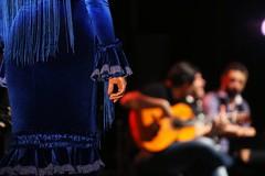 Spectacle Promesas del flamenco au Café Cantante