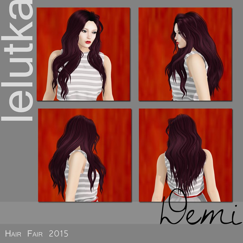 LeLutka at Hair Fair 2015