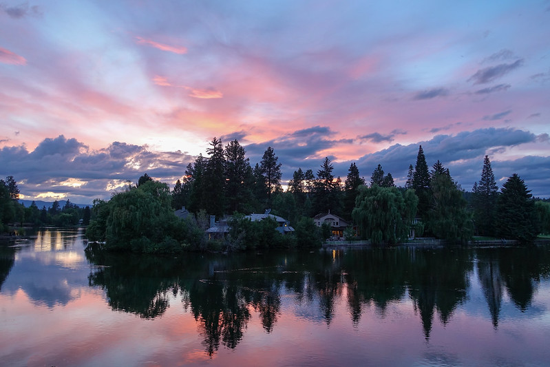 Mirror Pond - Bend, Oregon