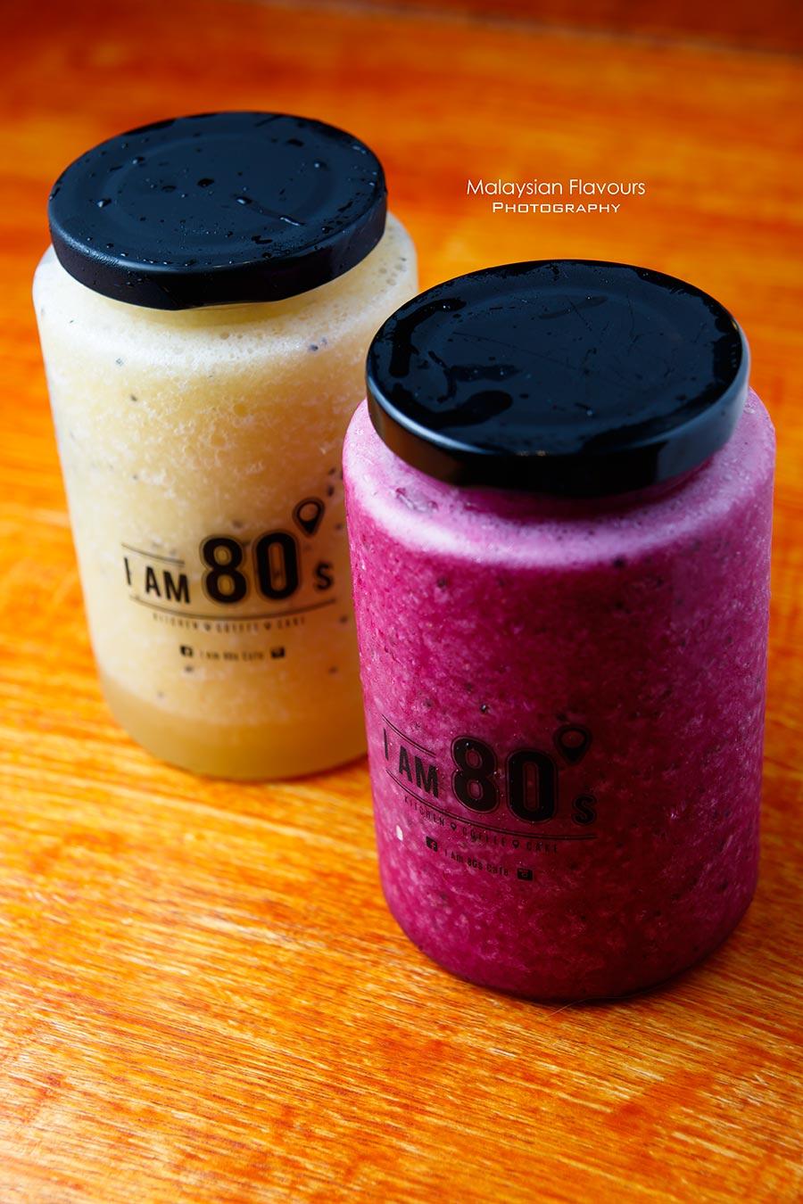 I Am 80s Cafe Taman Rasa Sayang mis berries dragon fruit