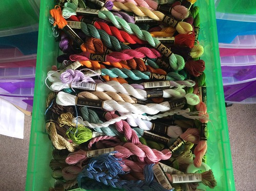 DMC #5 Perle cotton drawer
