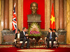 PM meets President Sang by The Prime Minister's Office