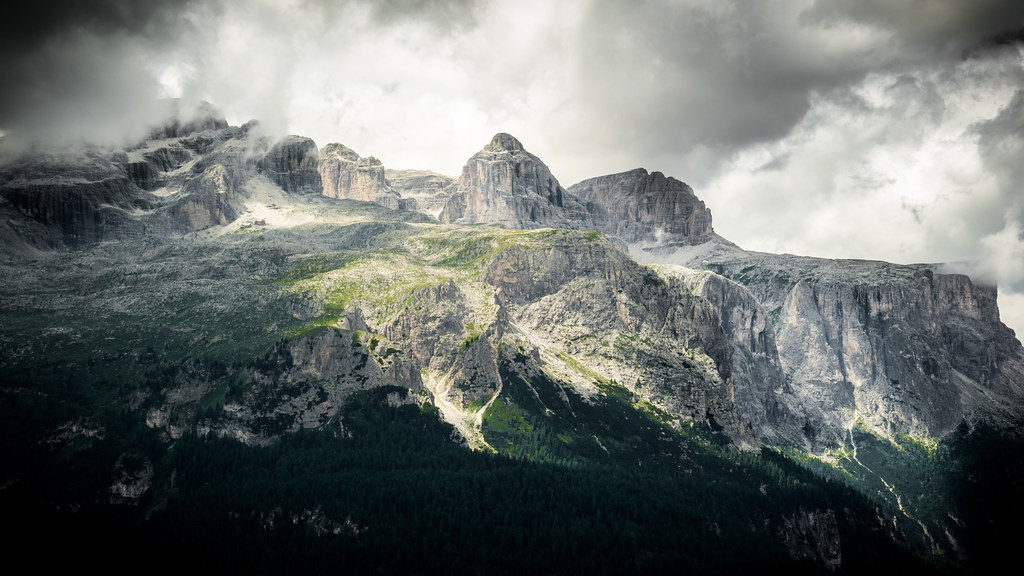 Sella group - Dolomites, Italy - Landscape photography