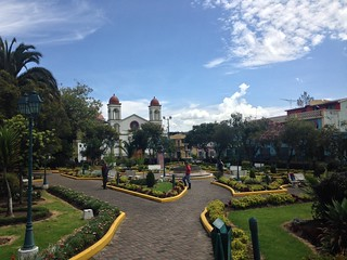 Sigchos main plaza