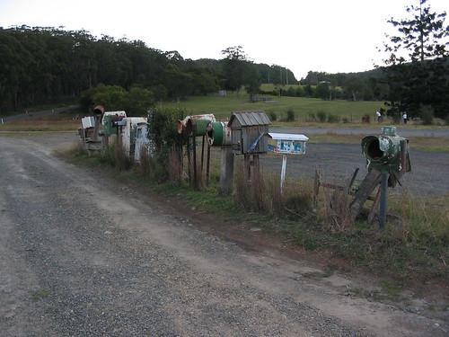 Mailboxes at Billys Creek NSW 2003