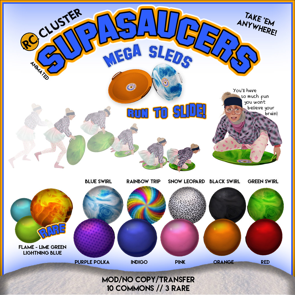-RC- Supa Saucer Sleds at N.21! - SecondLifeHub.com