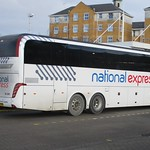 GSC National Express Caetano Levante bodied Volvo B11RT BW16LCO in Southampton 14 January 2017