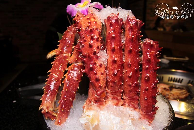 台中帝王蟹吃到飽3 096
