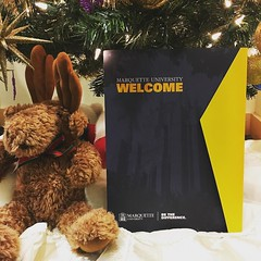 The best #Christmas presents come from @muadmissions. Comment if you received your letter. #WeAreMarquette
