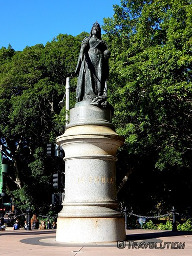 Queen Victoria Statue Hyde Park