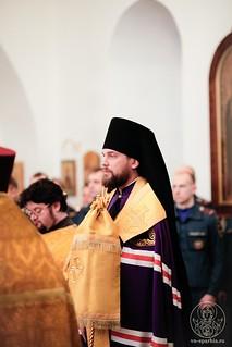Молебен в Спасском соборе 103