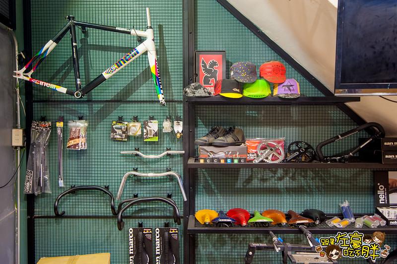 GD Cafe' x 転転 Bike-11