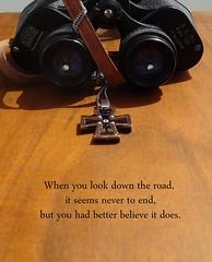 binoculars, brown, optical instrument,