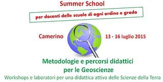 scuola estiva geoscienze camerino