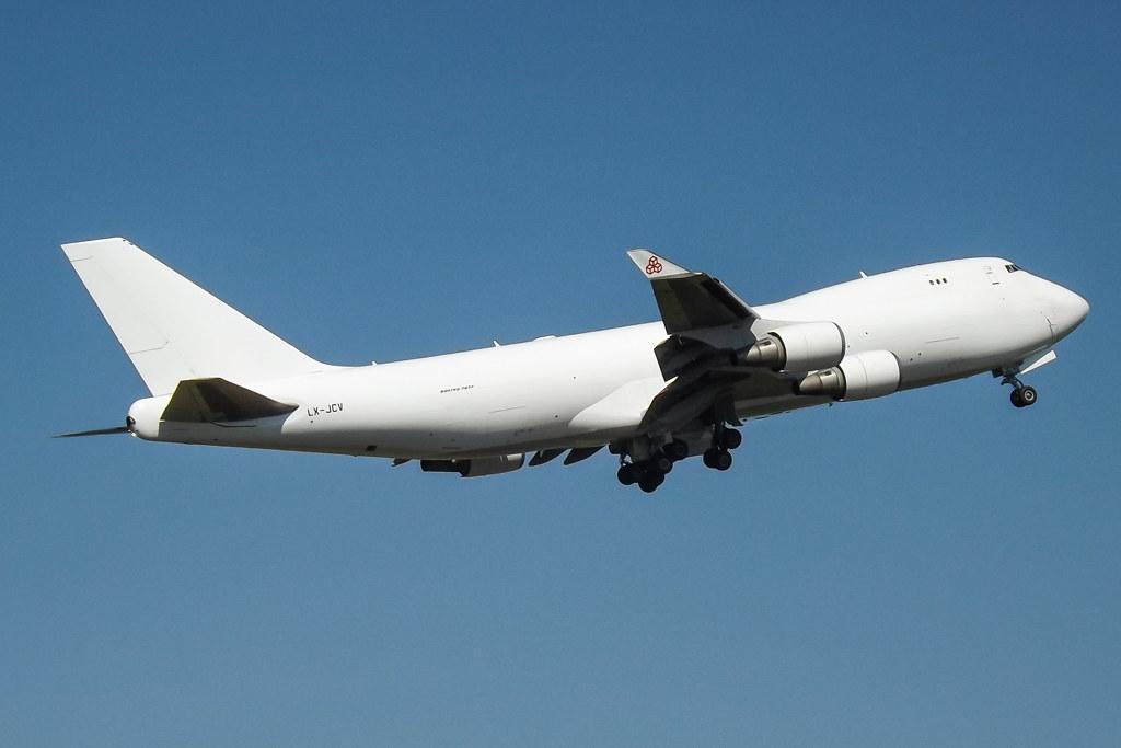 LX-JCV - B744 - Cargolux