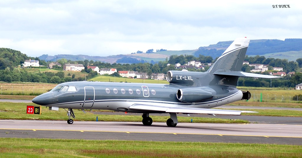 LX-LXL - F900 - Global Jet Luxembourg