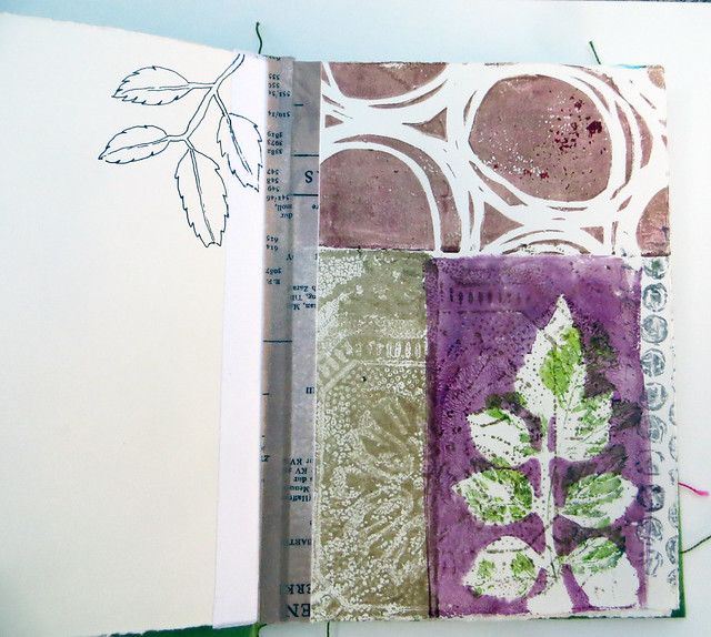 LavenderSage Art Retreat ~ from my sketchbook