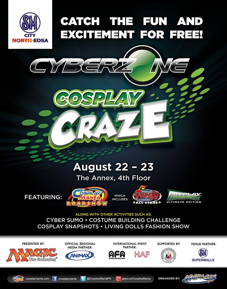 Cyberzone Cosplay Craze 2015