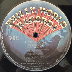 EUGENE WILDE:SERENADE(LABEL SIDE-A)