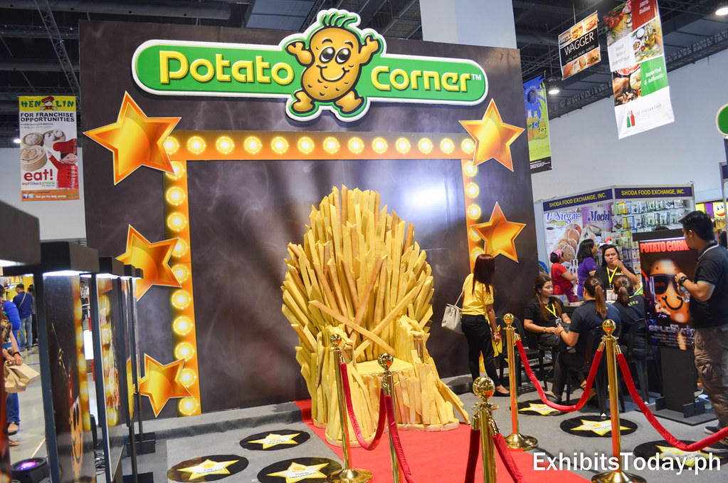 Potato Corner's Version of Iron Throne